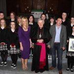 Presentation College Tuam Award Leaders Leona Gormley, Sr. Dorothy, Fr. Shane & Fr. Sean