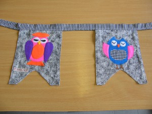 Some funky bunting to brighten up any room