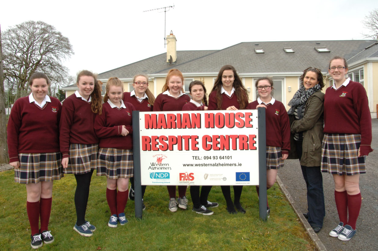 3B CSPE have a special visit to Marian House Respite Center