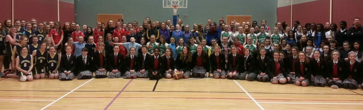 First & Second Years Basketball Blitz in NUIG