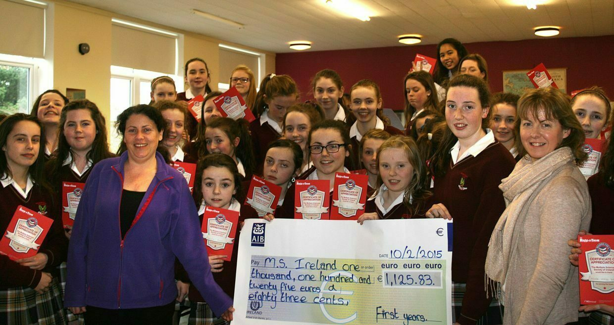 First Years Readathon raises an impressive €1,125.83 for Multiple Sclerosis (MS) Ireland