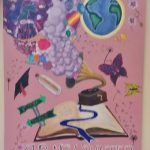 'Our New Chapter' This inspirational piece of art the back drop to our Leaving Certificate mass