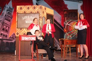 """""""Guys and Dolls"""" gets underway in the Pres Currylea"""