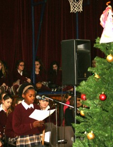 A beautiful and spiritual Christmas carol service was enjoyed by all