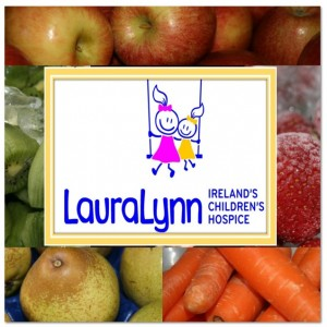 Some of the delicious fruit & vegetables used to make the smoothies & juicesin aid of the LauraLynn Ireland's Children's Hospice.