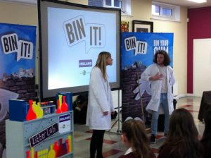 Second Year students enjoyed the 'Bin Your Gum When You're Done' Workshop, which highlighted the issue of chewing gum littering in our communities.