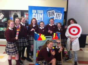 Green Schools host the 'Bin Your Gum When You're Done' Workshop