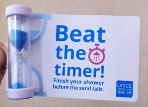Can you take a shower in under four minutes and 'Beat the timer' - Give it a go..