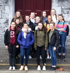 Transition Year students who enjoyed an eventful trip to NUIG