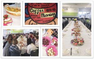 3C Third Year CSPE class held a coffee morning for the staff in aid of Galway Hospice.