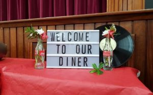 Our annual fundraiser event when we welcomed family & friends for a meal that we had all prepared.