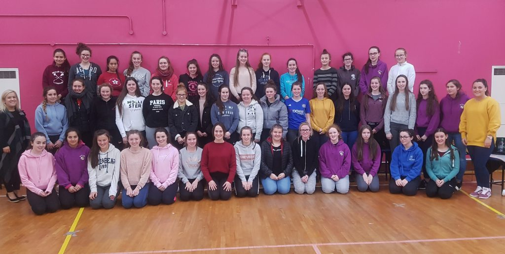 All of the Transition Year's who completed their First Aid course