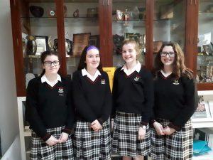 Casey O'Grady, Shannon Flynn, Emer Fahy and Caoimhe Walsh Kelly