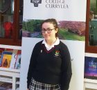 Well done to our student of the Mouth Saoirse Mongan