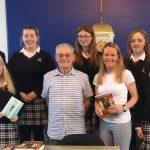 Transition Year & Senior history students hear holocaust survivor, Tomi Reichental speak.