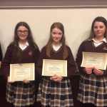 The Connacht Final of the Women Graduates Association Public Speaking Competition