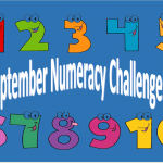 Numeracy Challenges for September