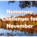 Numeracy Challenge for November