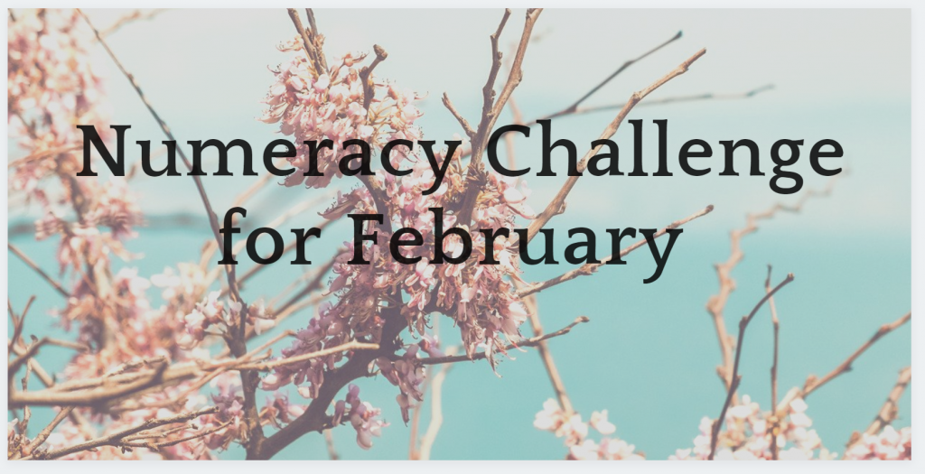 Numeracy Challenge for February