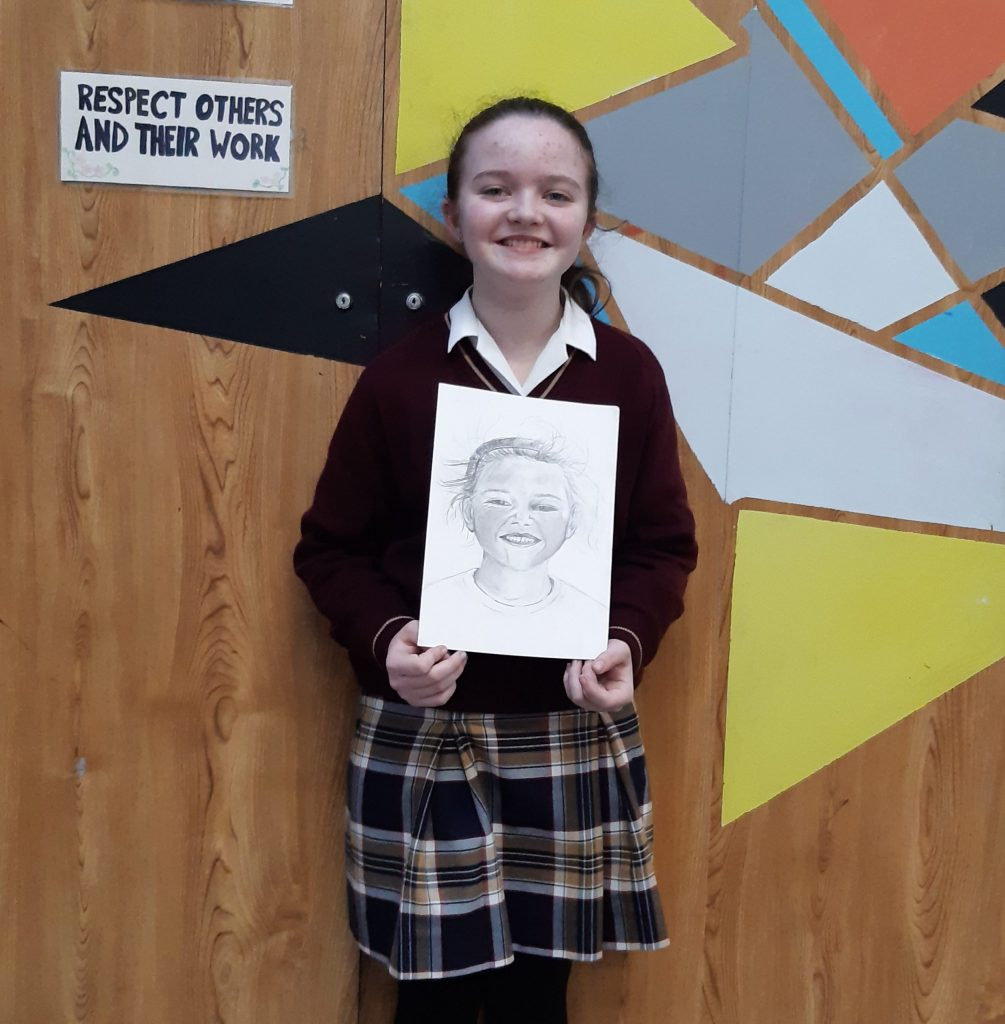 Wishing Lauren the very best of luck in the Texaco Art Competition
