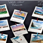 First and Second years create magical Polaroids watercolour